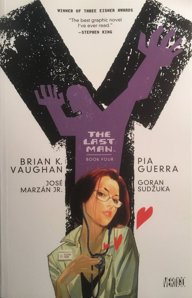 Y THE LAST MAN BOOK 4 GRAPHIC NOVEL