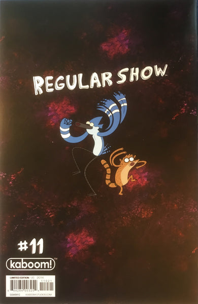 REGULAR SHOW # 11 (1:15 VARIANT COVER)