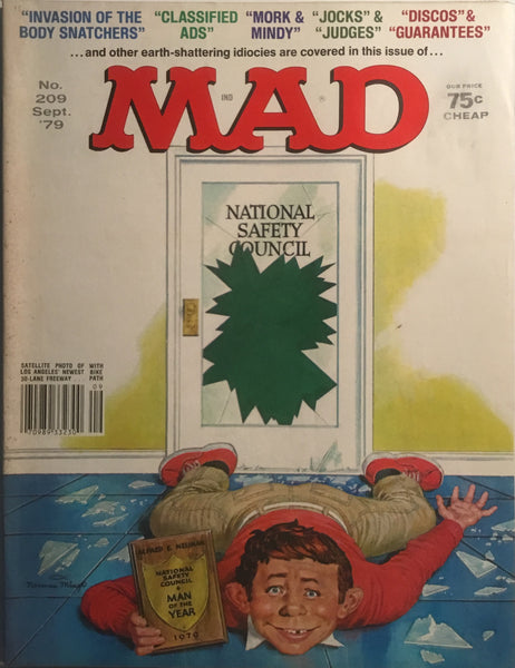 MAD MAGAZINE (USA) #209