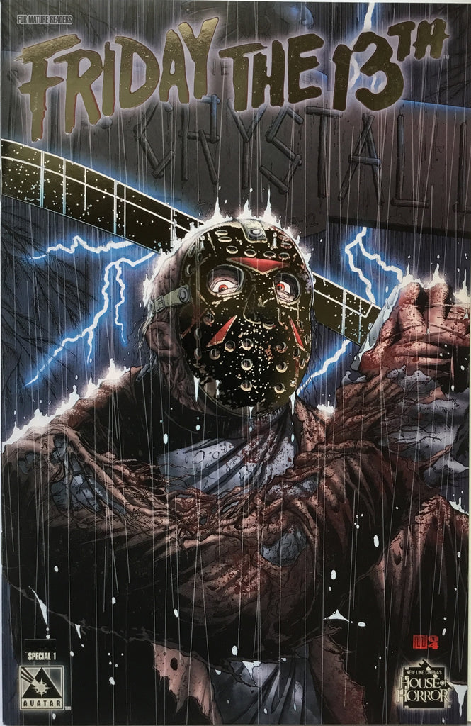FRIDAY THE 13TH SPECIAL # 1 LIMITED PLATINUM FOIL EDITION - Comics 'R' Us