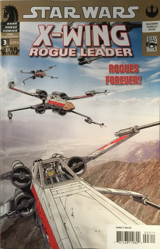 STAR WARS X-WING ROGUE SQUADRON ROGUE LEADER # 3