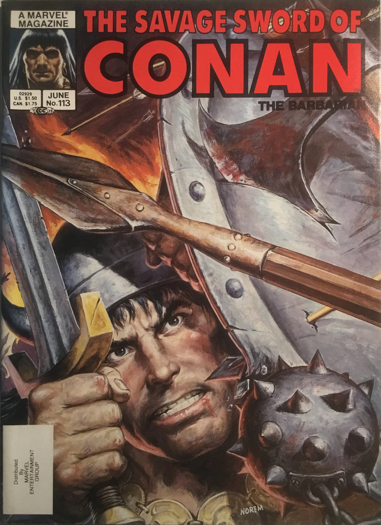 THE SAVAGE SWORD OF CONAN #113