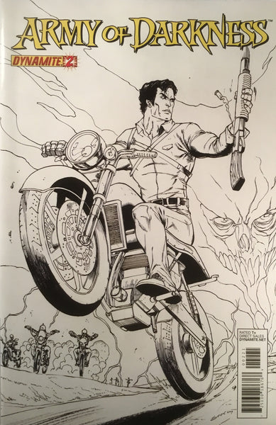 ARMY OF DARKNESS VOL. 3 # 2 SEELEY SKETCH COVER (1:10 VARIANT) - Comics 'R' Us