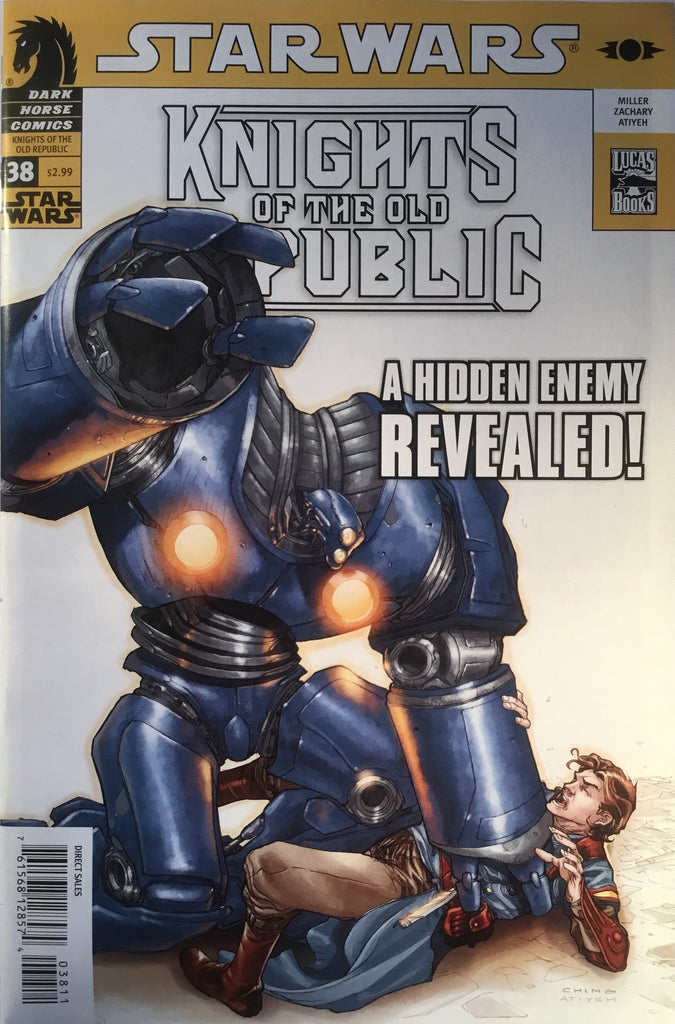 STAR WARS KNIGHTS OF THE OLD REPUBLIC # 38
