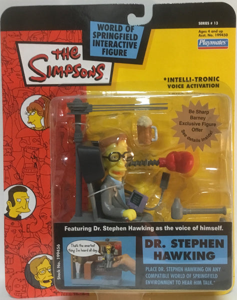 SIMPSONS WORLD OF SPRINGFIELD DR STEPHEN HAWKING INTERACTIVE FIGURE