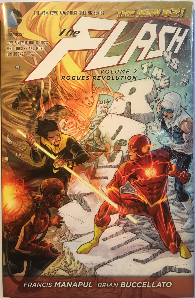 FLASH (NEW 52) VOL 2 ROGUES REVOLUTION HARDCOVER GRAPHIC NOVEL - Comics 'R' Us