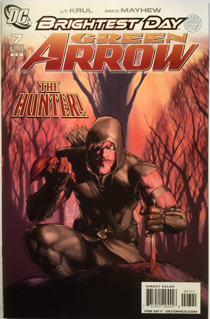 GREEN ARROW # 7 (2011) 1:10 VARIANT - Comics 'R' Us