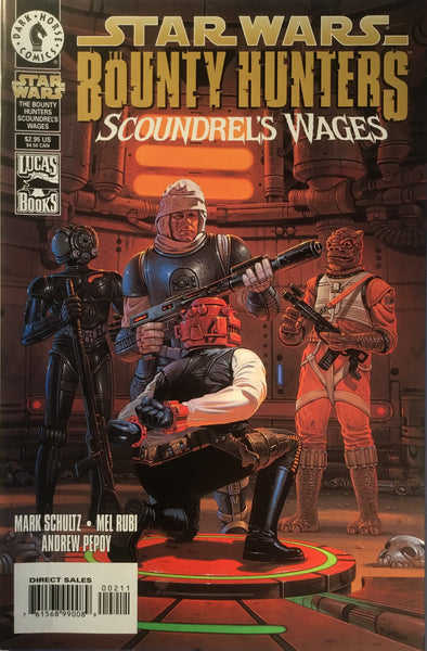 STAR WARS BOUNTY HUNTERS SCOUNDREL'S WAGES (ONE-SHOT)