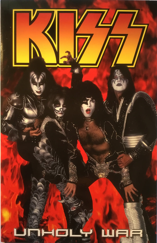 KISS VOL 4 UNHOLY WAR GRAPHIC NOVEL