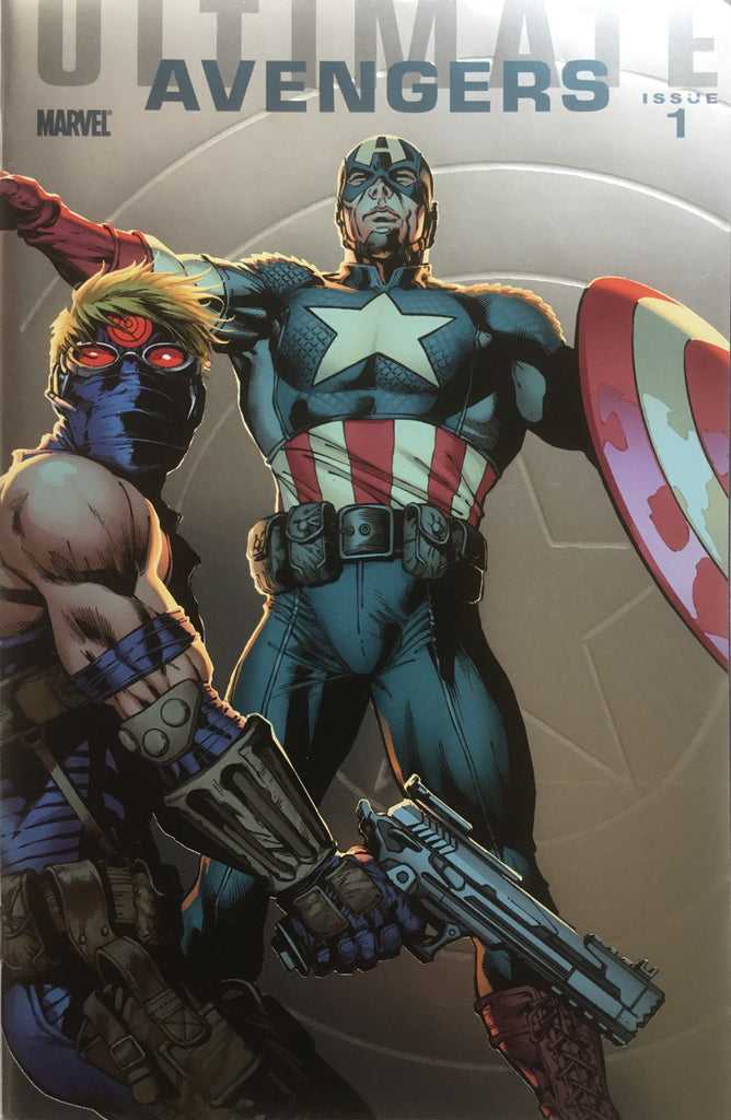 ULTIMATE AVENGERS # 1 CAPTAIN AMERICA FOILOGRAM COVER (1:25 VARIANT)