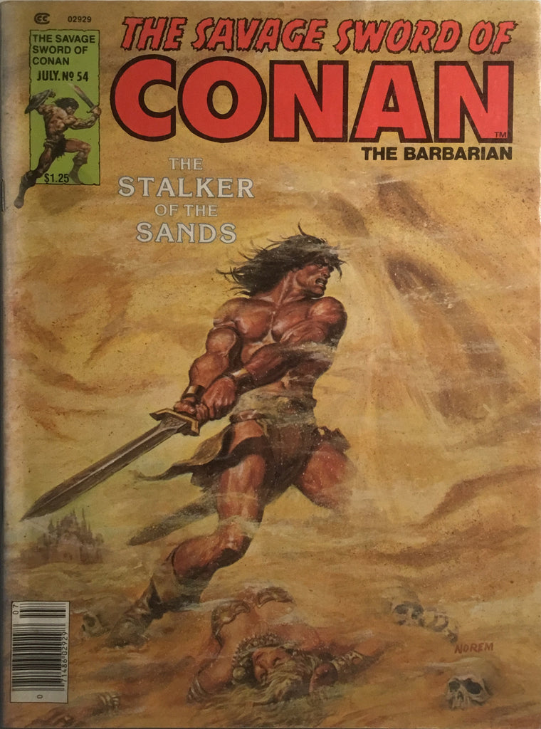 THE SAVAGE SWORD OF CONAN # 54