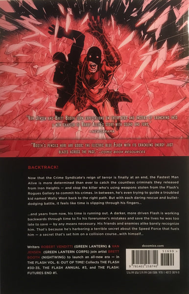 FLASH (NEW 52) VOL 6 OUT OF TIME GRAPHIC NOVEL