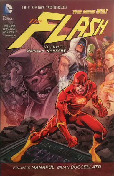 FLASH (NEW 52) VOL 3 GORILLA WARFARE GRAPHIC NOVEL