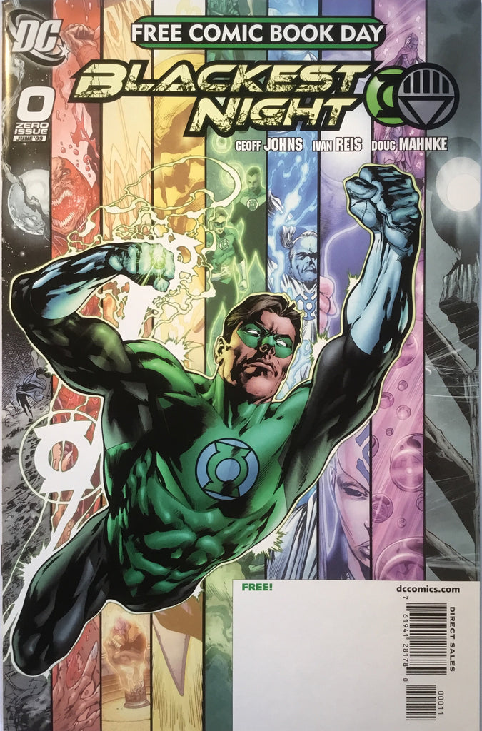 BLACKEST NIGHT # 0 FREE COMIC BOOK DAY EXCLUSIVE 2009 - Comics 'R' Us