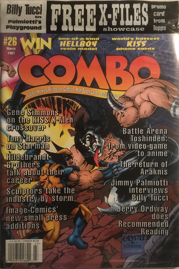 COMBO MAGAZINE # 26 FEATURING KISS