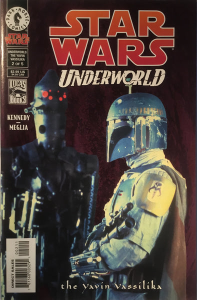 STAR WARS UNDERWORLD : THE YAVIN VASSILIKA # 2 PHOTO COVER