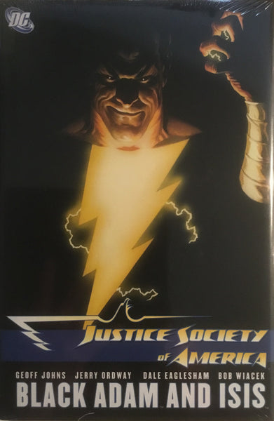 JUSTICE SOCIETY OF AMERICA VOL 5 BLACK ADAM AND ISIS HARDCOVER GRAPHIC NOVEL