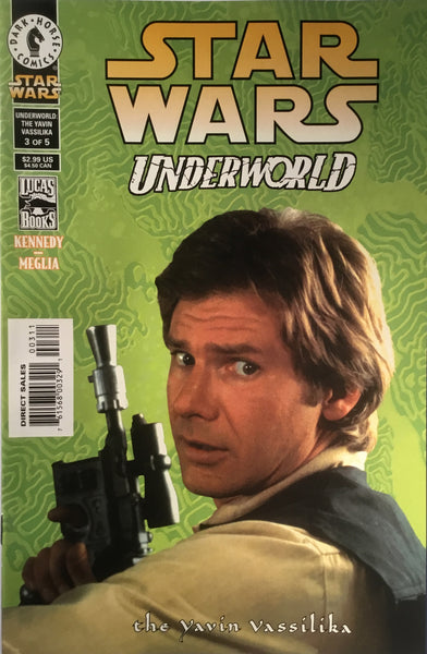 STAR WARS UNDERWORLD : THE YAVIN VASSILIKA # 3 PHOTO COVER
