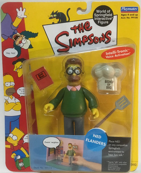 SIMPSONS WORLD OF SPRINGFIELD NED FLANDERS INTERACTIVE FIGURE