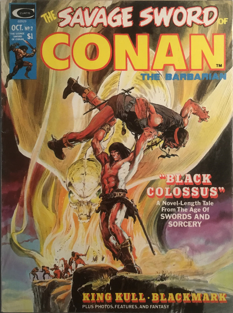 THE SAVAGE SWORD OF CONAN # 02
