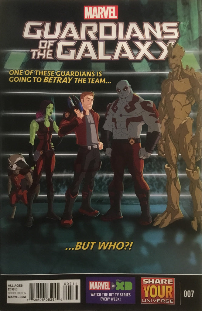 GUARDIANS OF THE GALAXY (MARVEL UNIVERSE) # 7