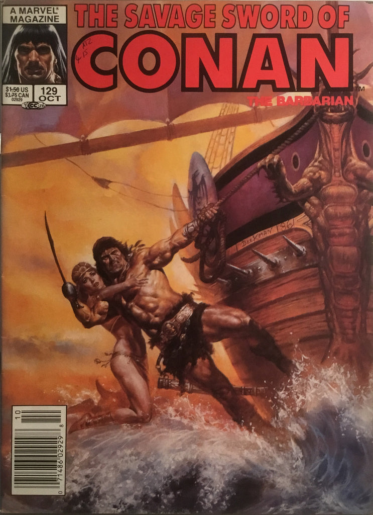 THE SAVAGE SWORD OF CONAN #129