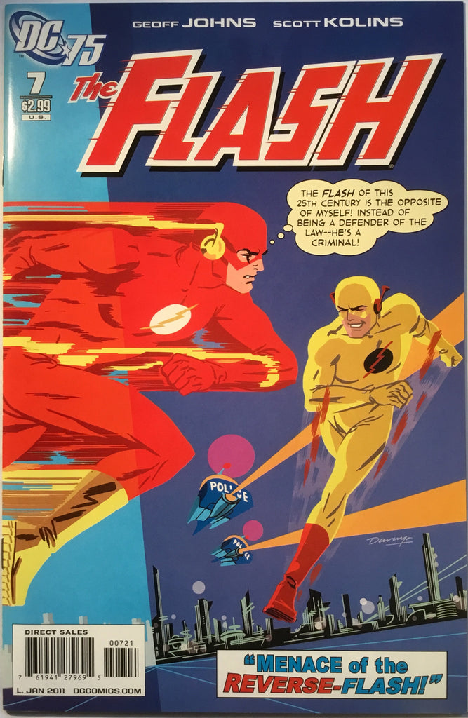 FLASH # 7 (1:10 VARIANT) 2011 - Comics 'R' Us