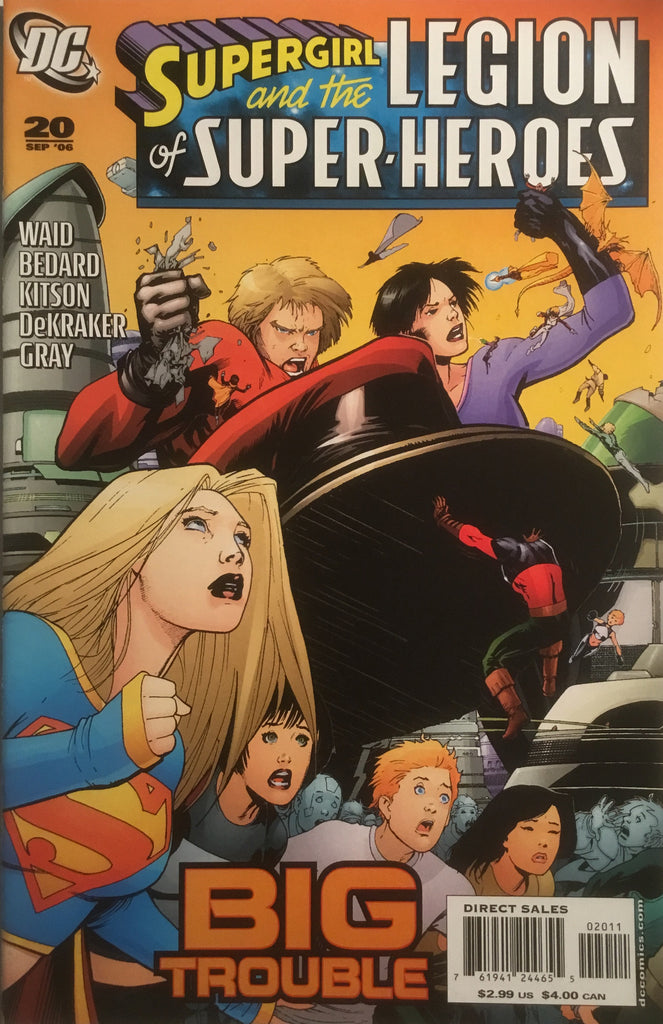 SUPERGIRL AND THE LEGION OF SUPER-HEROES (1985-1989) #20