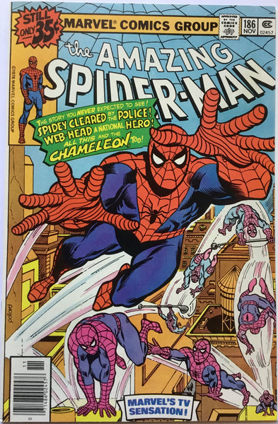 AMAZING SPIDER-MAN # 186 - Comics 'R' Us