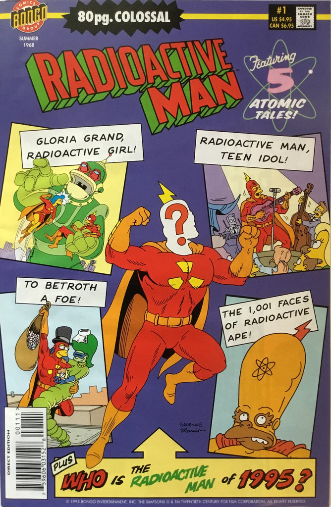 SIMPSONS RADIOACTIVE MAN ANNUAL # 1