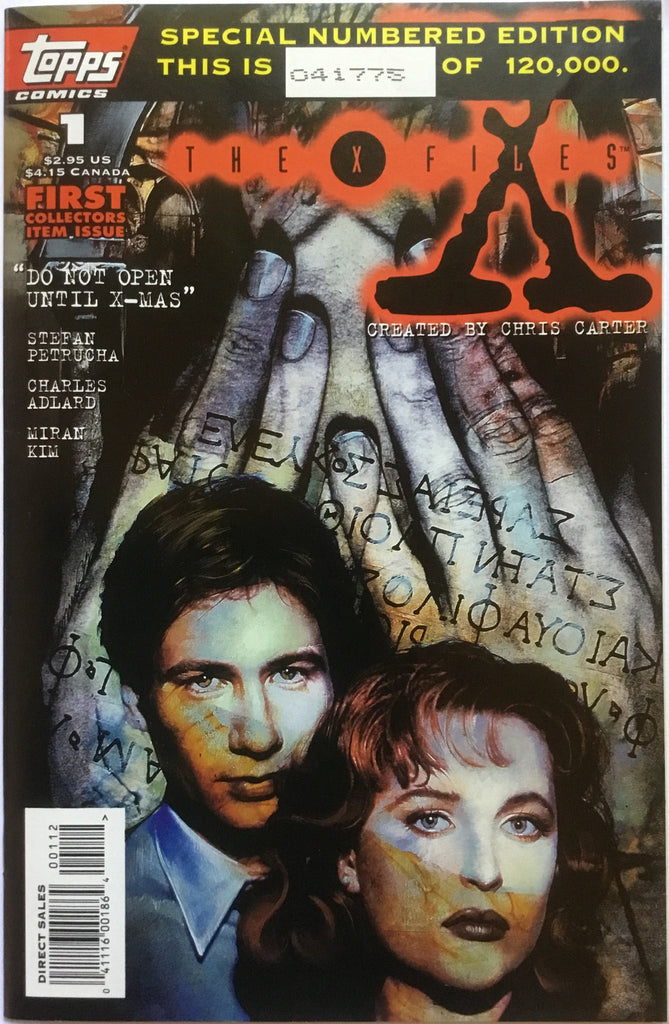 X-FILES # 1 (1995) LIMITED NUMBERED EDITION