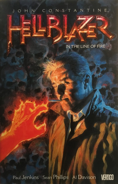 HELLBLAZER VOL 10 IN THE LINE OF FIRE GRAPHIC NOVEL