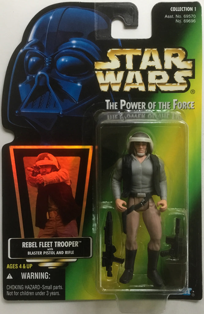 STAR WARS REBEL FLEET TROOPER ACTION FIGURE 1996