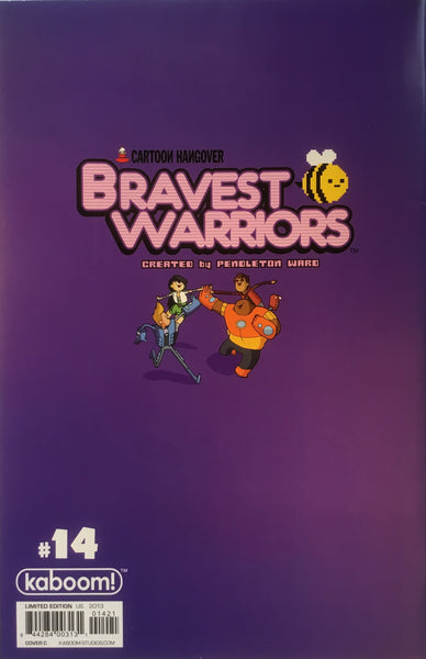 BRAVEST WARRIORS #14 (1:15 VARIANT COVER)