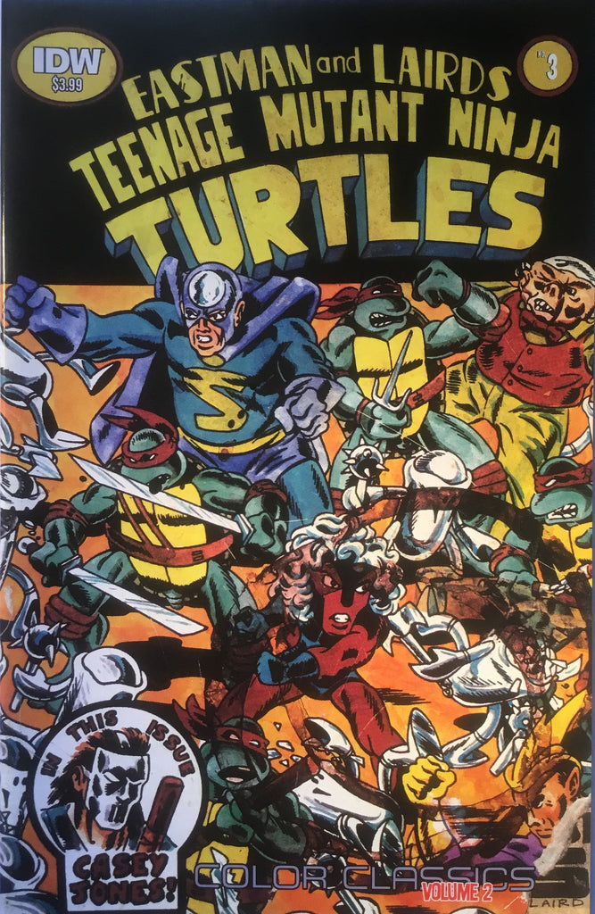 TMNT TEENAGE MUTANT NINJA TURTLES COLOR CLASSICS VOLUME 2 # 3