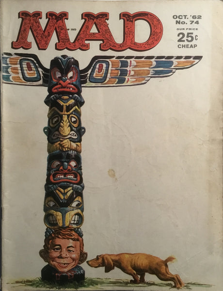 MAD MAGAZINE (USA) # 74
