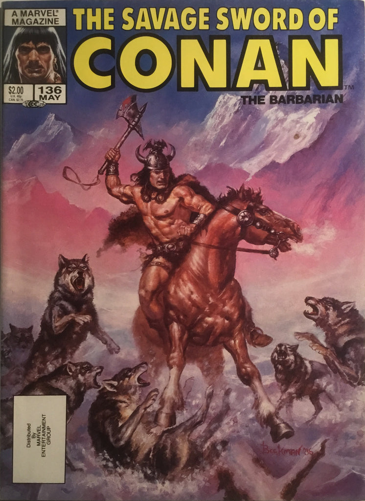 THE SAVAGE SWORD OF CONAN #136