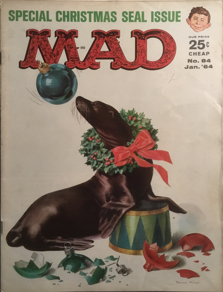 MAD MAGAZINE (USA) # 84
