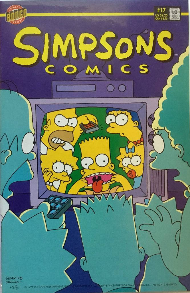 SIMPSONS COMICS # 17