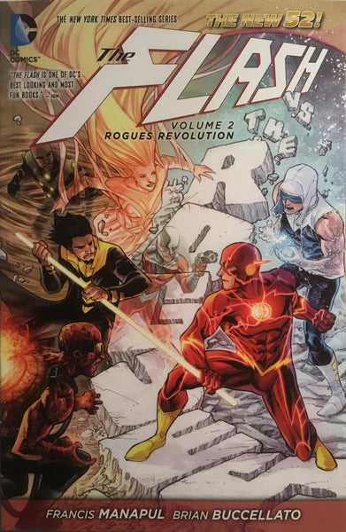 FLASH (NEW 52) VOL 2 ROGUES REVOLUTION GRAPHIC NOVEL - Comics 'R' Us