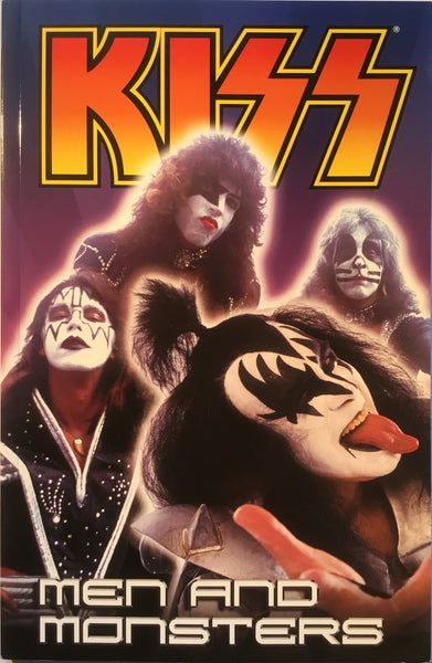 KISS VOL 3 MEN AND MONSTERS GRAPHIC NOVEL
