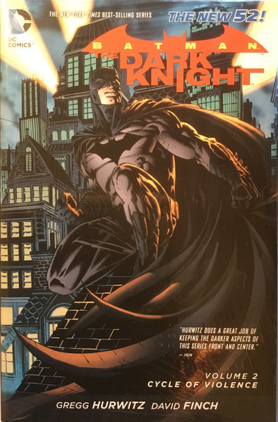 BATMAN THE DARK KNIGHT (NEW 52) VOL 2 CYCLE OF VIOLENCE HARDCOVER GRAPHIC NOVEL - Comics 'R' Us