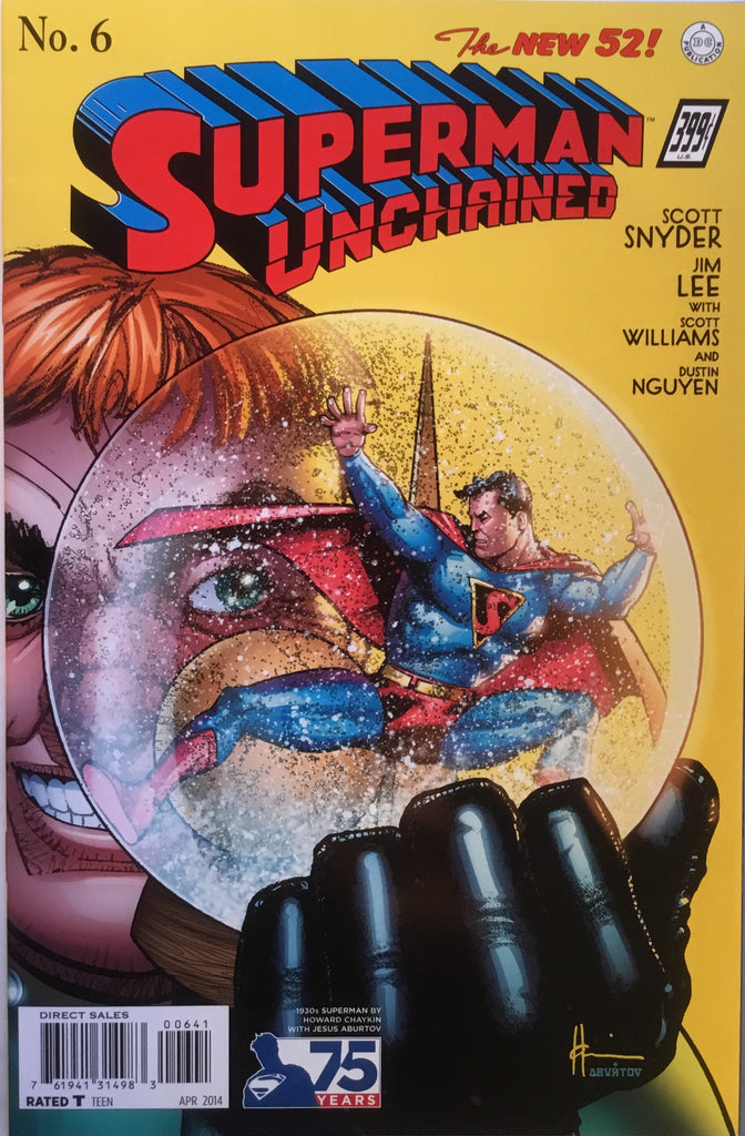 SUPERMAN UNCHAINED # 6 CHAYKIN 1:100 VARIANT