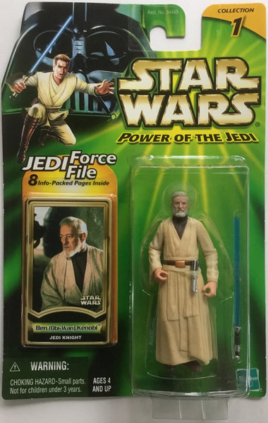 STAR WARS BEN (OBI-WAN) KENOBI JEDI KNIGHT ACTION FIGURE 2000