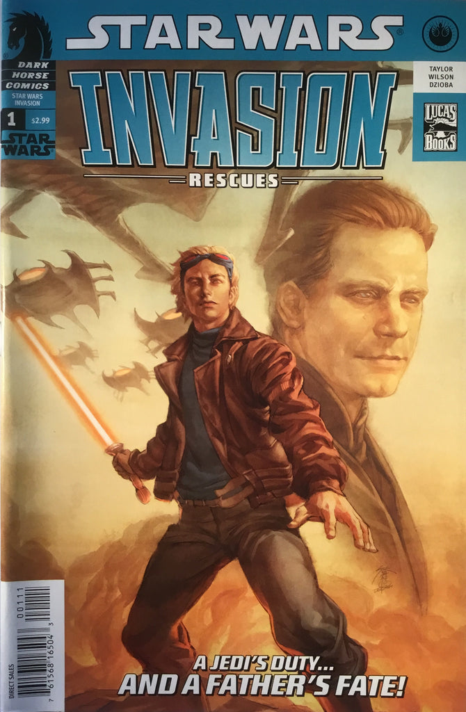 STAR WARS INVASION : RESCUES # 1