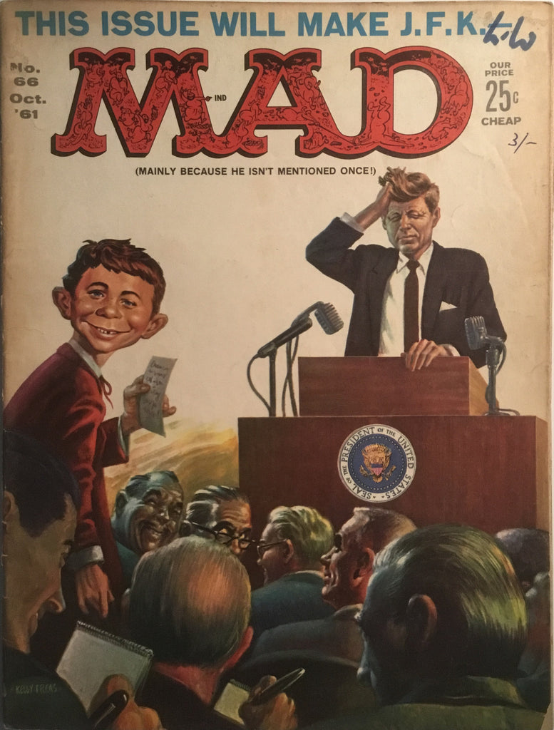 MAD MAGAZINE (USA) # 66