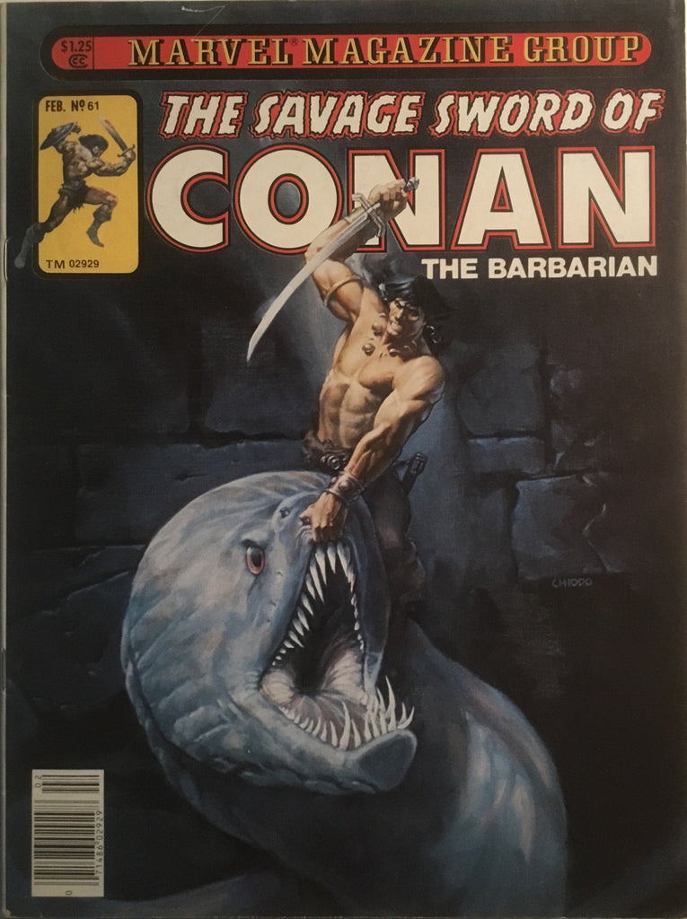THE SAVAGE SWORD OF CONAN # 61