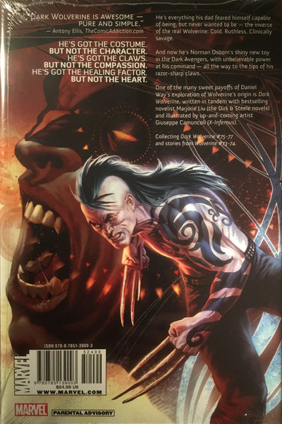 WOLVERINE : DARK WOLVERINE VOL 1 THE PRINCE HARDCOVER GRAPHIC NOVEL