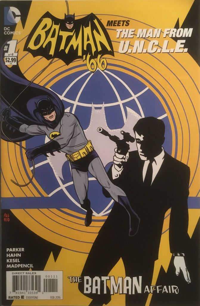 BATMAN '66 MEETS THE MAN FROM U.N.C.L.E. # 1