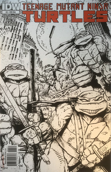 TMNT TEENAGE MUTANT NINJA TURTLES # 03 (1:10 VARIANT)